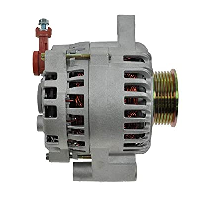 1A Auto Replacement 130 Amp Alternator 1R3U10300AC for 01-04 Ford Mustang V6 3.8L: Automotive