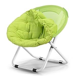 Amazon.com: Lavable silla plegable/adulto luna silla/tumbona ...