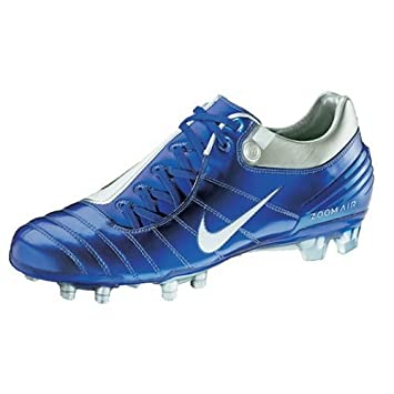 buy popular b9254 c26fa Nike Air Zoom Total 90 ek-Supremacy FG Chaussures de Football, Bleu Argent