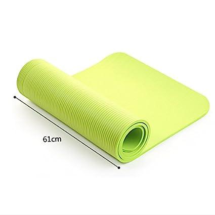 Amazon.com : Utility 4MM Yoga Mat Exercise Pad Thick Non ...