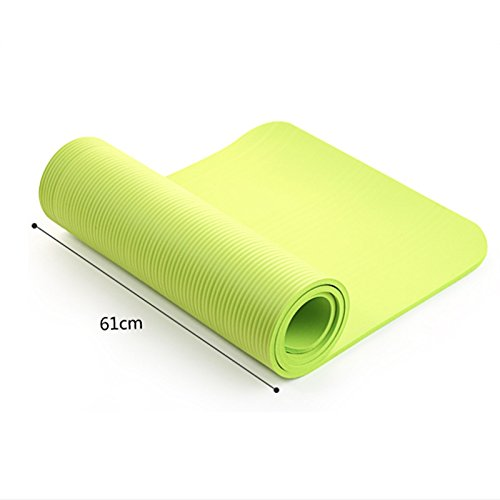 Amazon.com : Utility 4MM Yoga Mat Exercise Pad Thick Non ...