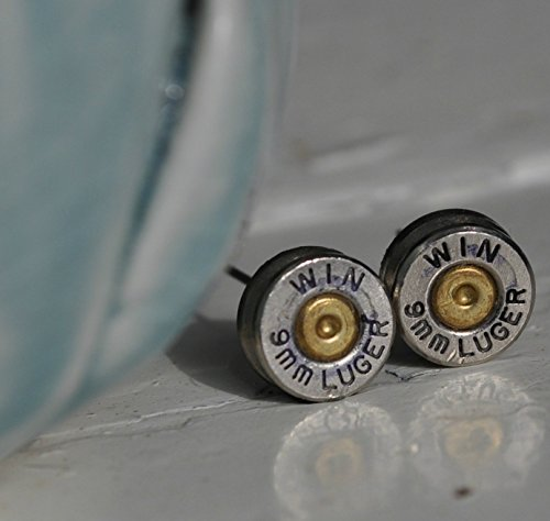 9mm-winchester-luger-bullet-earring-studs-aluminum-shell-casings-gun-jewelry