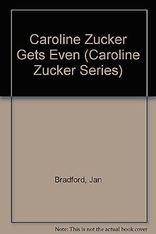 book cover of Caroline Zucker Gets Even