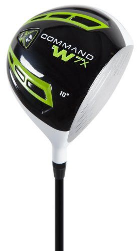 Pinemeadow Golf Command W7X Driver, Right Hand, Graphite, Re