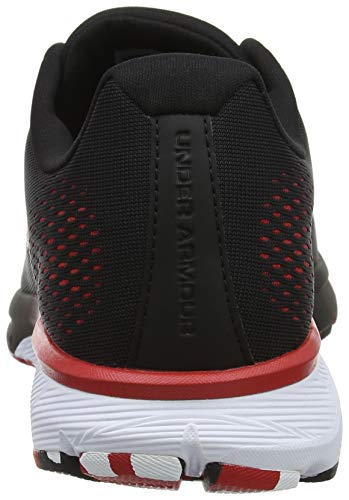 Red Under 001 Red Armour Running Spark Homme Chaussures Black UA 001 Noir Charged de Compétition F4gFq