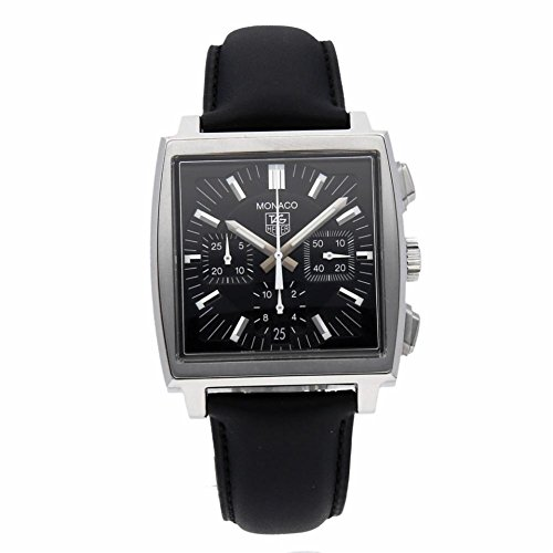 Tag Heuer Box Watch (Tag Heuer Monaco Automatic-self-Wind Male Watch CW2111.FC6177 (Certified Pre-Owned))
