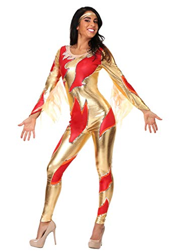 Female's Blades of Glory Fire Jumpsuit Costume X-Large