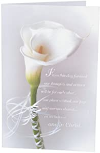 calla lily create your own wedding programs 100 paper sheets
