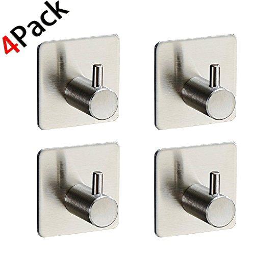 4-pack-robe-towel-hook-3m-self-adhesive-sus-304-stainless-steel-brushed-nickel-bathroom-kitchen-orga