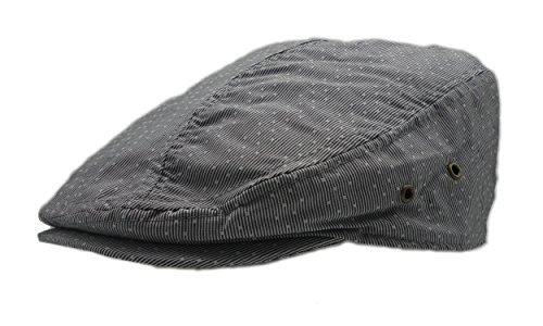 Wonderful Fashion Men's Herringbone Wool Tweed newsboy IVY Cabbie Driving Hat (Lt. Pocka Grey)