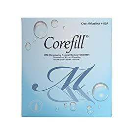 [Corefill] Microneedle MTS Patch Plus World's 1st Cross-linked Hyaluronic acid rate over 80% skin wrinkle care whitening effect 1month(15mg3)4 over- night miracle