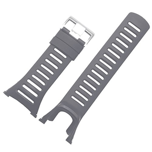 New Trend! For SUUNTO AMBIT 3 PEAK/Ambit 2/Ambit 1 Rubber Watch Replacement Band Strap (Grey)