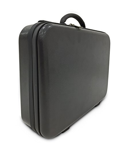 Americano Polycarbonate Briefcase (16″, Black)