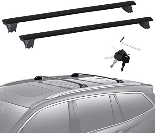 JDMSPEED New Roof Rack Cross Bars Luggage Rack W/Side Rails Replacement for Jeep Grand Cherokee 2011-2019
