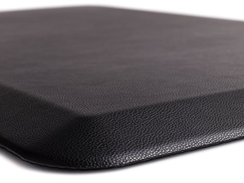 "The Original 3/4"" GORILLA GRIP Anti-Fatigue Comfort Mat, Ergonomically Engineered, Highest Quality Material, Non-Toxic, Waterproof, 32x20 inches (Black)"