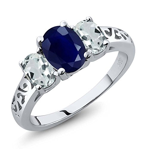 265-ct-oval-blue-sapphire-and-sky-blue-aquamarine-925-sterling-silver-womens-3-stone-engagement-ladi