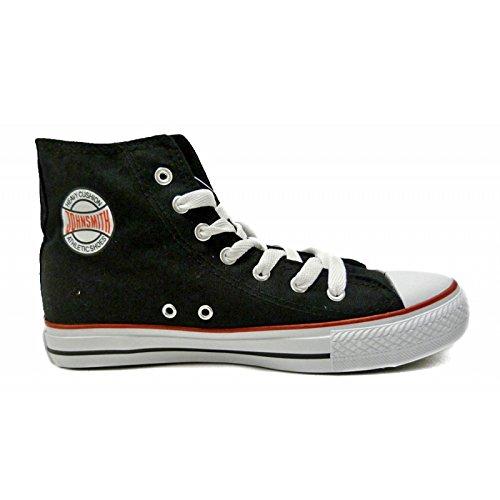 John Smith - Bota lona, talla 38, color negro: Amazon.es: Zapatos y complementos