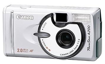 amazon com canon powershot a200 2mp digital camera point and rh amazon com canon powershot s100 repair manual canon powershot s100 manual pdf