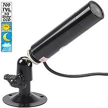 ePathChina® 3.6mm Lens 700TVL 1/3 Sony Effio-e 960H CCD Waterproof Mini Spy Hidden Camera DC 12V Bullet CCTV Surveillance Camera TV Standard - NTSC