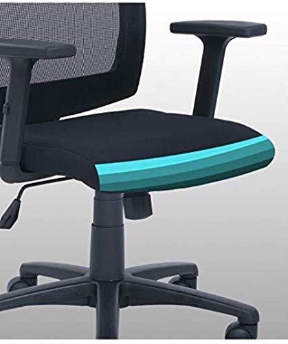 Fåtöljar GSN kontorsstol, ergonomisk tjock slitstark verkställande stol andningsbar nät lätt att rengöra dator skrivbordsstol kontorsstol