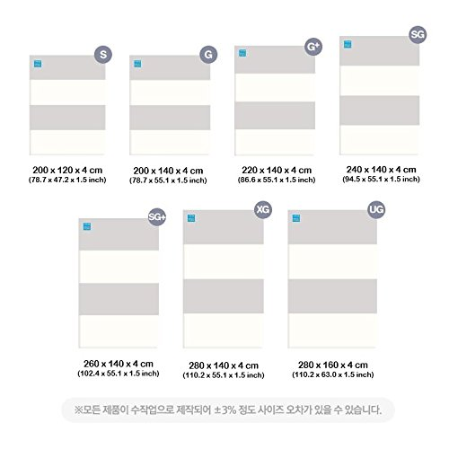 [Alzip Mat] Baby Playmat - ECO Color Folder Duo (Non-Toxic, Non-Slip, Waterproof) (Eco Duo Gray, XG) by Alzipmat (Image #4)