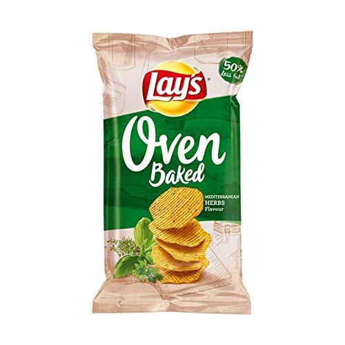 Bellpeper y hierbas de patatas fritas | Lays | Galletas crujientes ...