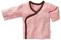 Babysoy Baby Girls\' Kimono Layering Top - Petal - 3-6 Months