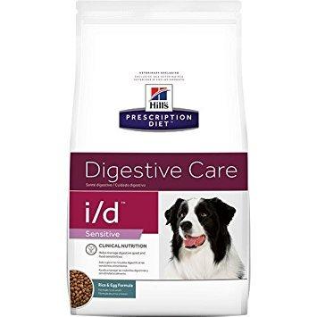 (HILL'S PRESCRIPTION DIET i/d Sensitive Digestive Care Rice & Egg Formula Dry Dog Food, 17.6 lb Bag)
