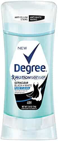 Degree Dry Protection Antiperspirant, Black + White Pure Clean 2.6 Ounce