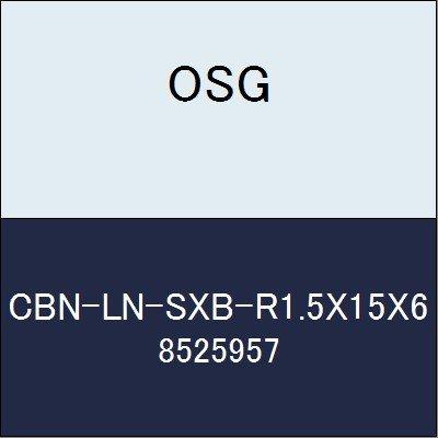 OSG エンドミル CBN-LN-SXB-R1.5X15X6 商品番号 8525957