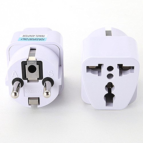 Orcbee  _Universal UK US AU to EU AC Power Socket Plug Travel Charger Adapter Converter