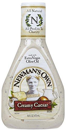 Own Creamy Newmans - Newman's Own Creamy Caesar Dressing 16 oz