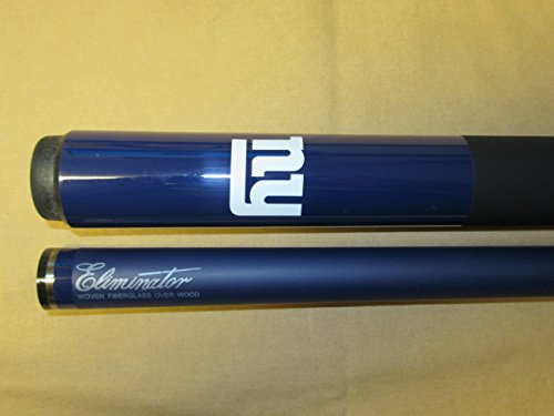 "Imperial Officially Licensed NFL Merchandise: 57"" 2-Piece Eliminator Billiard/Pool Cue, New York Giants"