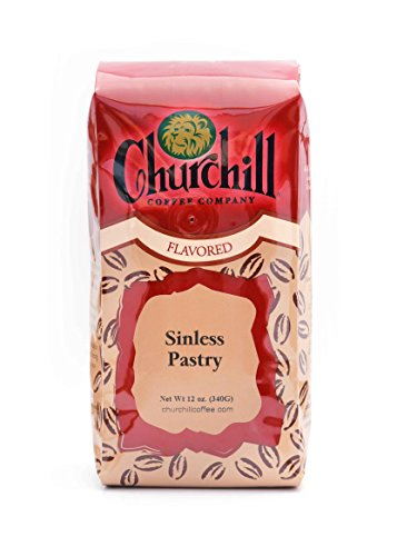 Churchill Coffee Sinless Pastry 12 oz - Ground ()