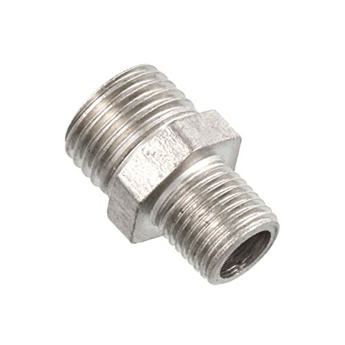 master-airbrushr-brand-1-8-bsp-male-to-1-4-bsp-male-fitting-conversion-adapter-nipple-connector-for-