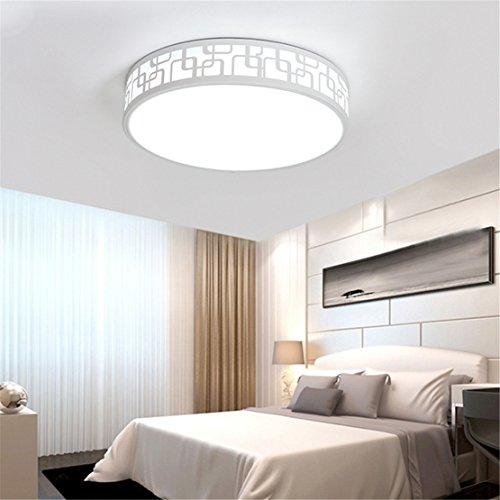 Lumières de couloir LED plafonniers ronds Chambre allée salon lumières balcon cuisine lumières appareils d'éclairage 40cm