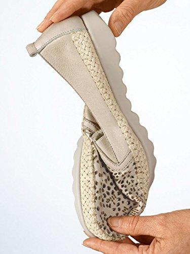 Avena Damen Klima-Slipper Flexibility Beige