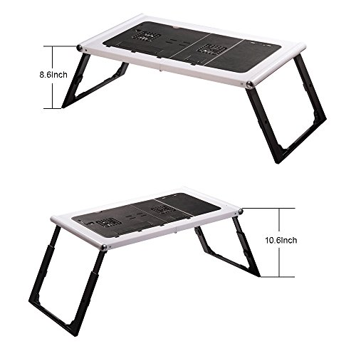 Etable Plastic Adjustable Laptop Table Stand For Sofa Bed