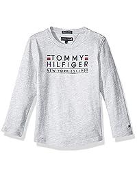 TOMMY HILFIGER KB0KB04277T Camiseta para Bebé-Niños