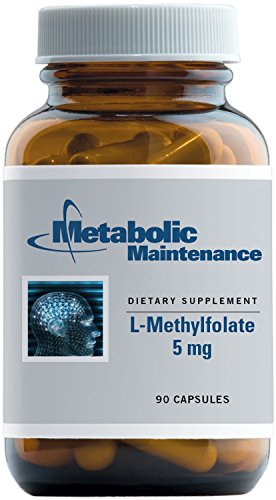 Metabolic Maintenance - L-Methylfolate - 5 mg Active 5-MTHF, 90 Capsules by Metabolic Maintenance