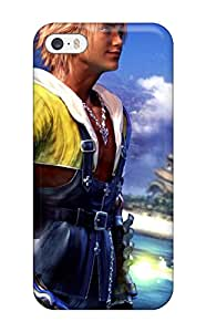 New CJzjb7146qPaYj Final Fantasy X Tidus Skin Case Cover Shatterproof Case For Iphone 5/5s