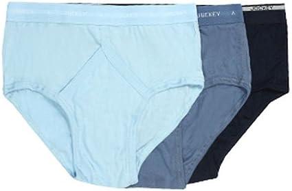 Jockey - 3 calzoncillos clásicos de algodón para hombre, parte delantera en forma de Y