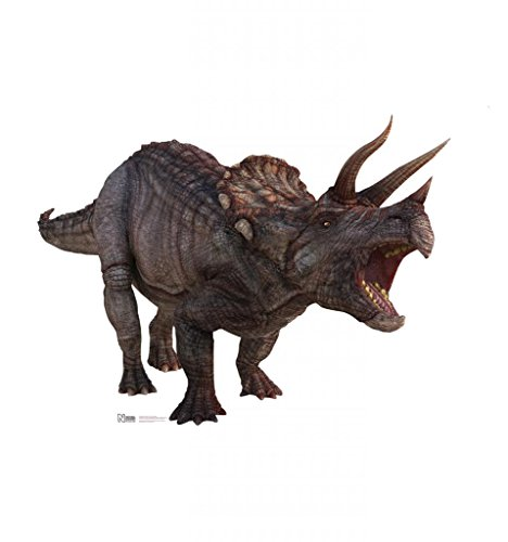 Triceratops - Advanced Graphics Life Size Cardboard Standup - Natural History Museum Fossils