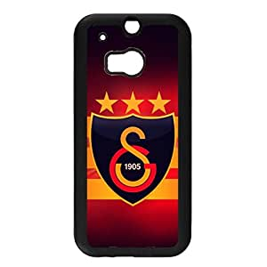 Htc One M8 Galatasaray Football Logo Phone Case Cool Official Fc Logo Galatasaray Back Case Cover (Soccer Design For Fans)