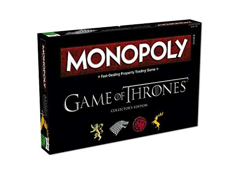 Game of Thrones Monopoly: Collector's Edition (Monopoly Thrones Game)