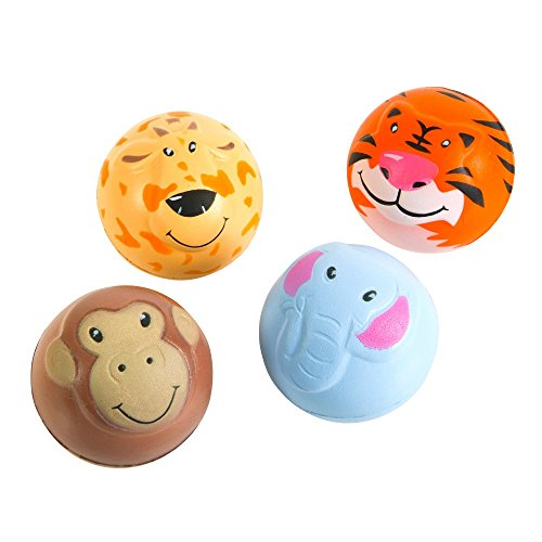2 inch Animal Squeeze Ball Balls