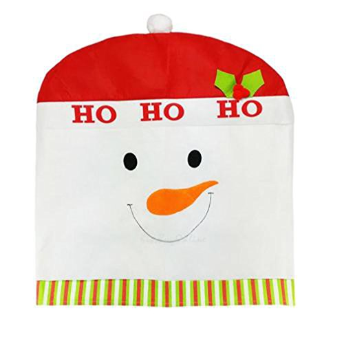 MONOMONO-Hot Cartoon Santa Claus Chair Back Cover Christmas Dinner Party Decoration - Sales White Mall Oaks