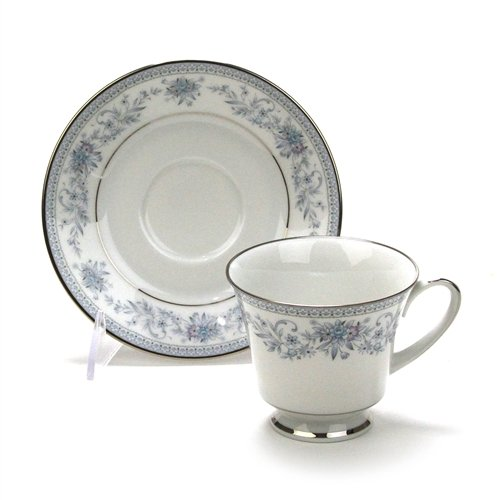 Blue Hill by Noritake, China Cup & Saucer -