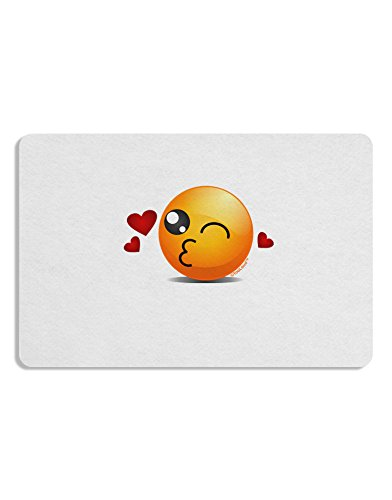 Kissy Wink Face Emoji Placemat