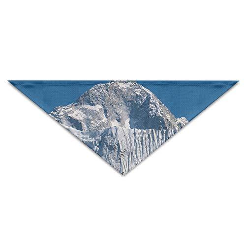 - Jingclor Pet Triangle Bandana Snow Mountains Clipart Art Washable Dog Puppy Scarf Bib Babys Neckerchief Accessories